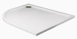 SONAS Kristal Low Profile 1200x800 Offset Quadrant Shower Tray LH with FREE shower waste Code KLP1280LQ100