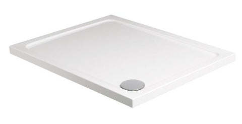 SONAS Kristal Low Profile 1300x800 Rectangle Shower Tray with FREE shower waste Code KLP1380100