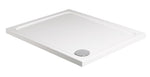 SONAS Kristal Low Profile 1600x800 Rectangle Shower Tray with FREE shower waste Code KLP1680100