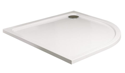 SONAS Kristal Low Profile 800 Quadrant Shower Tray with FREE shower waste Code KLP80Q100