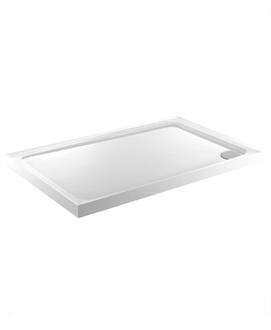 SONAS Kristal Low Profile 900X700 Rectangle Upstand Shower Tray   with FREE shower waste Code KLP970UPS