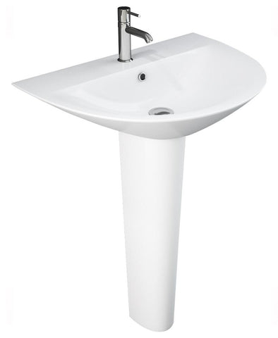 Morning Basin 50cm & Full Pedestal (1TH) Code MOR50BSP