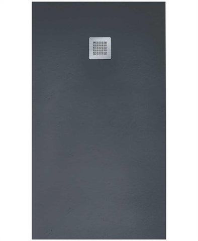 SONAS SLATE 1000 x 800 Shower Tray Anthracite - with FREE shower waste Code NSL1080AT