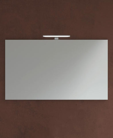 SONAS 1200mm x 700mm Mirror & 600mm Pandora Chrome Light Code PAN12060CP