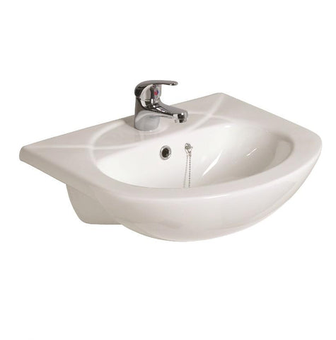 SONAS Strata 500 Semi Recessed Basin 1TH Code PB025
