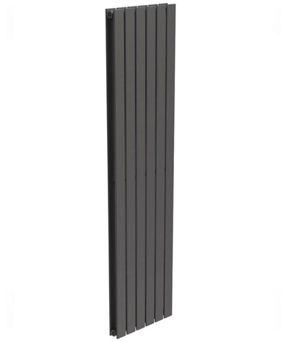 SONAS Piatto Flat Tube Designer Radiator Vertical 1800 x 456 Double Panel Anthracite Code PDP1845AT