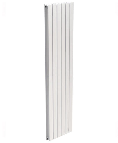 SONAS Piatto Flat Tube Designer Radiator Vertical 1800 x 456 Double Panel White  Code PDP1845WH