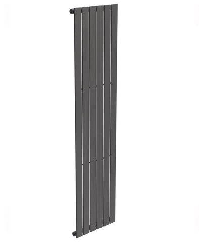 SONAS Piatto Flat Tube Designer Radiator Vertical 1800 x 452 Single Panel Anthracite Code PSP1845AT