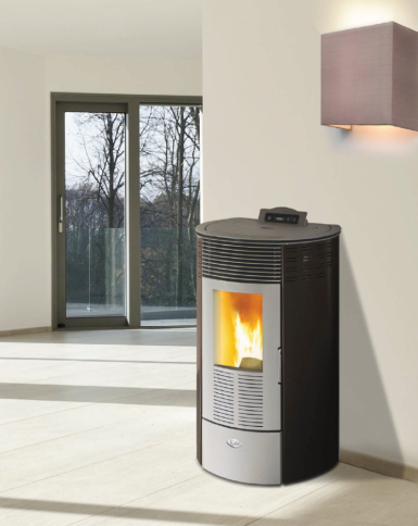Kalor Redonda Steel 10 Wood Pellet Air Stove