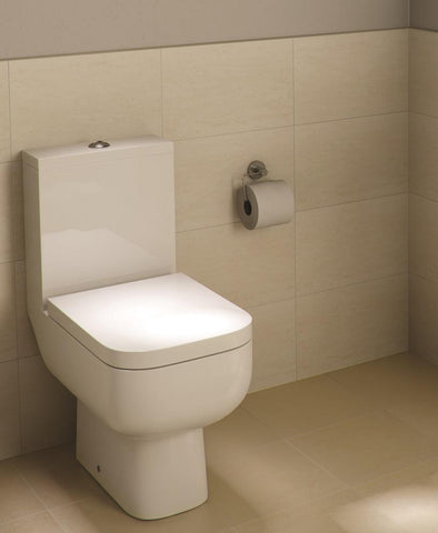 Series 600 Close Coupled Toilet & Soft Close Seat - Short Projection - 595mm Code S600PAKSC