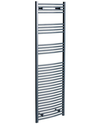 SONAS Sonas 1800 x 600 Curved Towel Rail - Anthracite Code STW186CAT