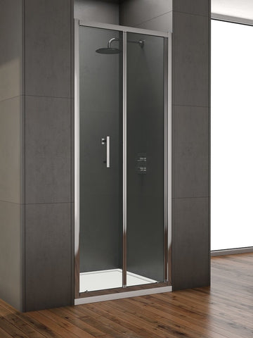 SONAS Style 800mm Bi-fold Shower Door -  Adjustment 750 - 790mm Code STYBF800