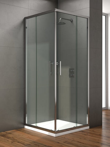 SONAS Style 760mm Corner Entry Shower Door - Adjustment 720 - 740mm Code STYCE760