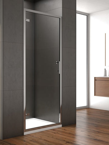SONAS Style 800mm Hinged Shower Door - Adjustment 750 - 790mm Code STYHD800