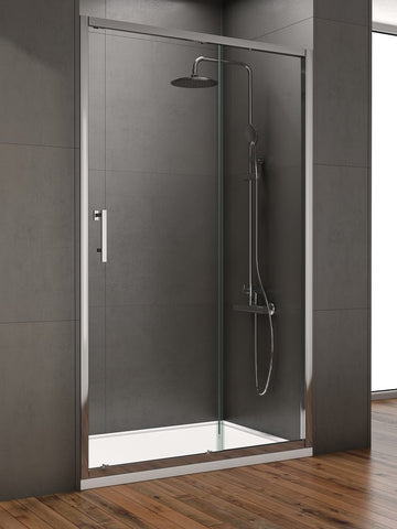 SONAS Style 1400mm Sliding Shower Door - Adjustment 1350 - 1390mm Code STYSL1400