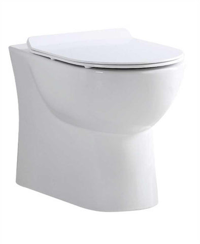 SONAS Verona Back to Wall RIMLESS Toilet and Soft Close Seat Code VERBTW01