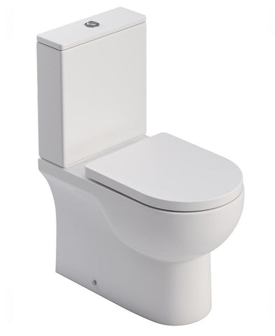 SONAS Vigor Fully Shrouded WC-Soft Close Seat Code VIGFS01