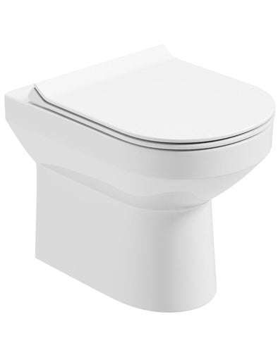 SONAS Vienna Back To Wall Rimless WC - Slim Soft Close Seat Code VNNBTW01S