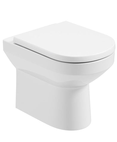 SONAS Vienna Back To Wall Rimless WC - Soft Close Seat Code VNNBTW03