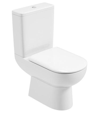 SONAS Viva Close Coupled WC - Soft Close Seat Code VVVCC03