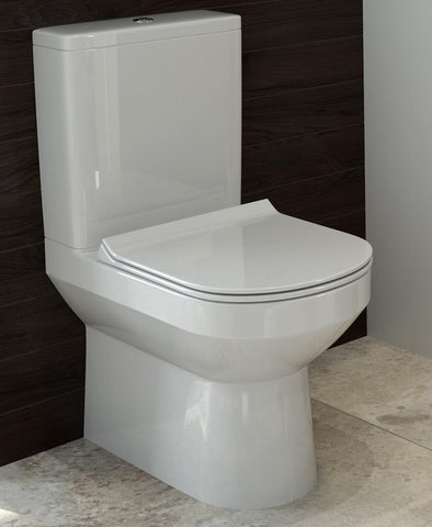 SONAS Viva Comfort Height Close Coupled WC - Slim Soft Close Seat Code VVVCHCC01S
