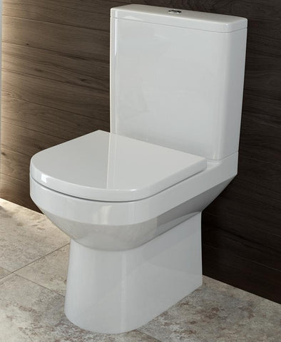 SONAS Viva Comfort Height Fully Shrouded WC - Soft Close Seat Code VVVCHFS03