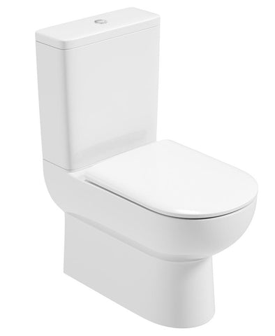 SONAS Viva Fully Shrouded WC - Soft Close Seat Code VVVFS03