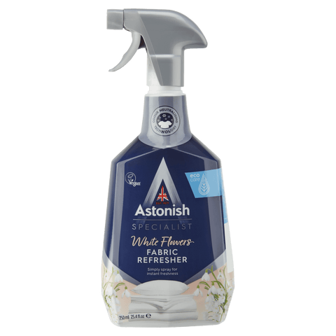 ASTONISH SPECIALIST FABRIC REFRESHER WHITE FLOWERS (750ML)