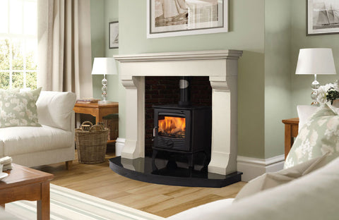 12kw Black Multi Fuel Henley Druid Stove