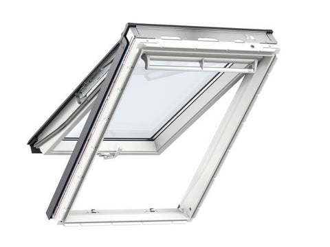 VELUX® GPL CK06 2070 WHITE PAINT LAMINATED TOP HUNG ROOF WINDOW 55X118CM