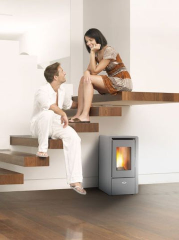 Kalor Petite 6 Wood Pellet Air Stove