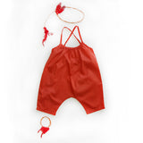 Playsuit 3/4  - Blood Orange