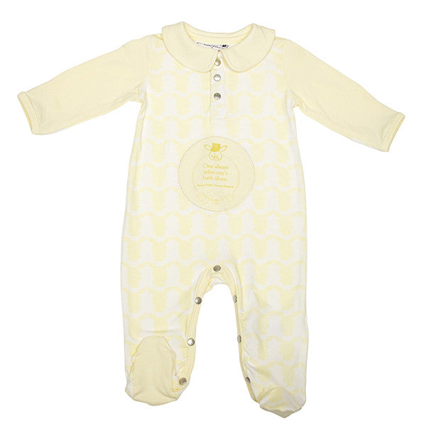Jumpsuit - Footed (French Vanilla Yellow)