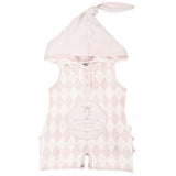 Jumpsuit - Hooded (Berries and Cream Pink)