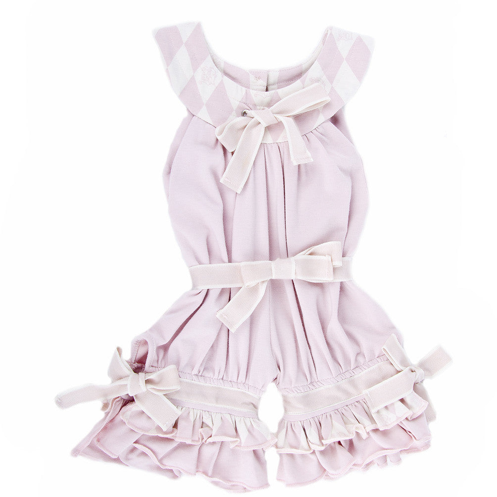 Playsuit (Berries and Cream Pink)