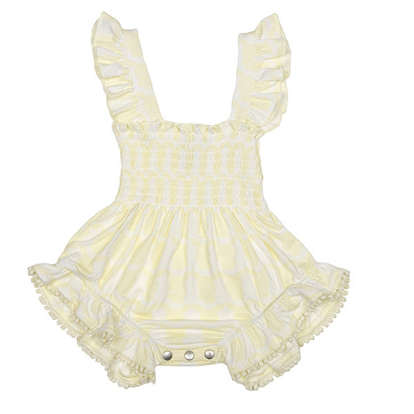 Playsuit (French Vanilla Yellow)
