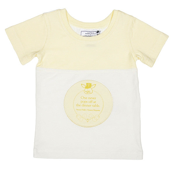 T-Shirt (French Vanilla Yellow)