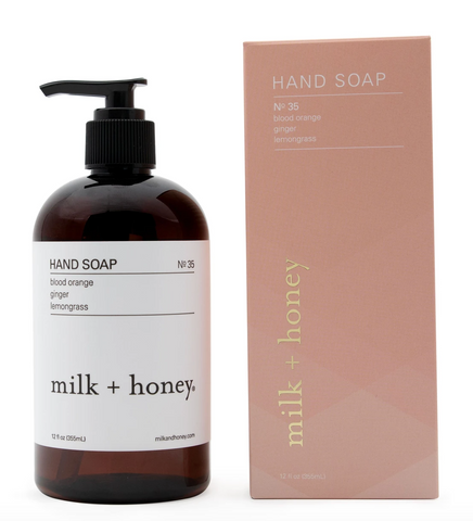 Hand Soap No. 35- Blood Orange, Ginger, Eucalyptus