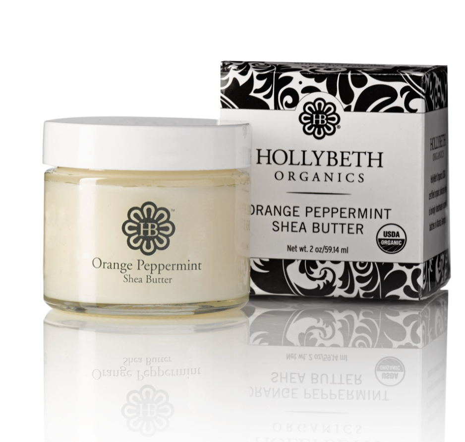 Orange Peppermint Shea Butter Cream
