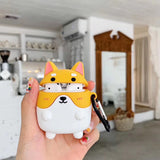 AirPods 1 & 2 Cases Welsh Corgi & Husky