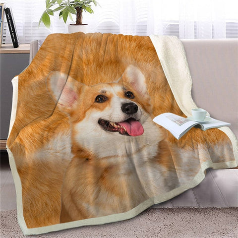 Corgi blanket and quilt | Handmade corgi stuffs, best place for corgi owner