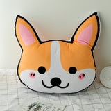 Handmade Corgi Backrest and Cushion