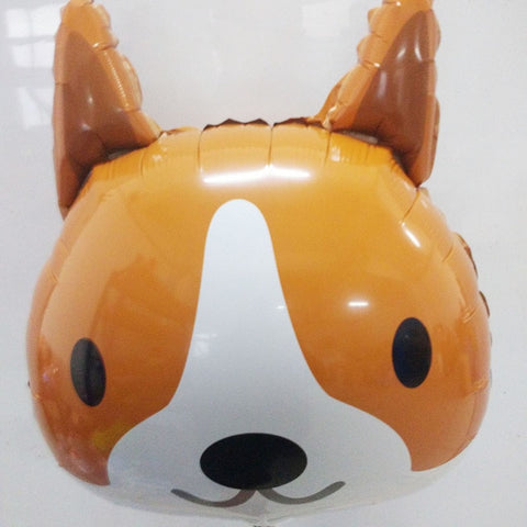 1PC Corgi Balloons Party Home Decor 18inch