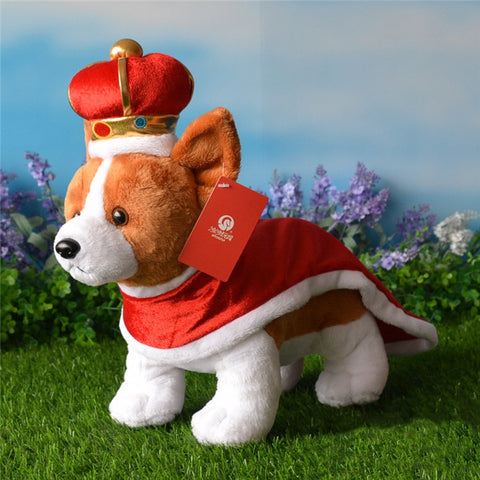 23CM Corgi Crown and Cloak