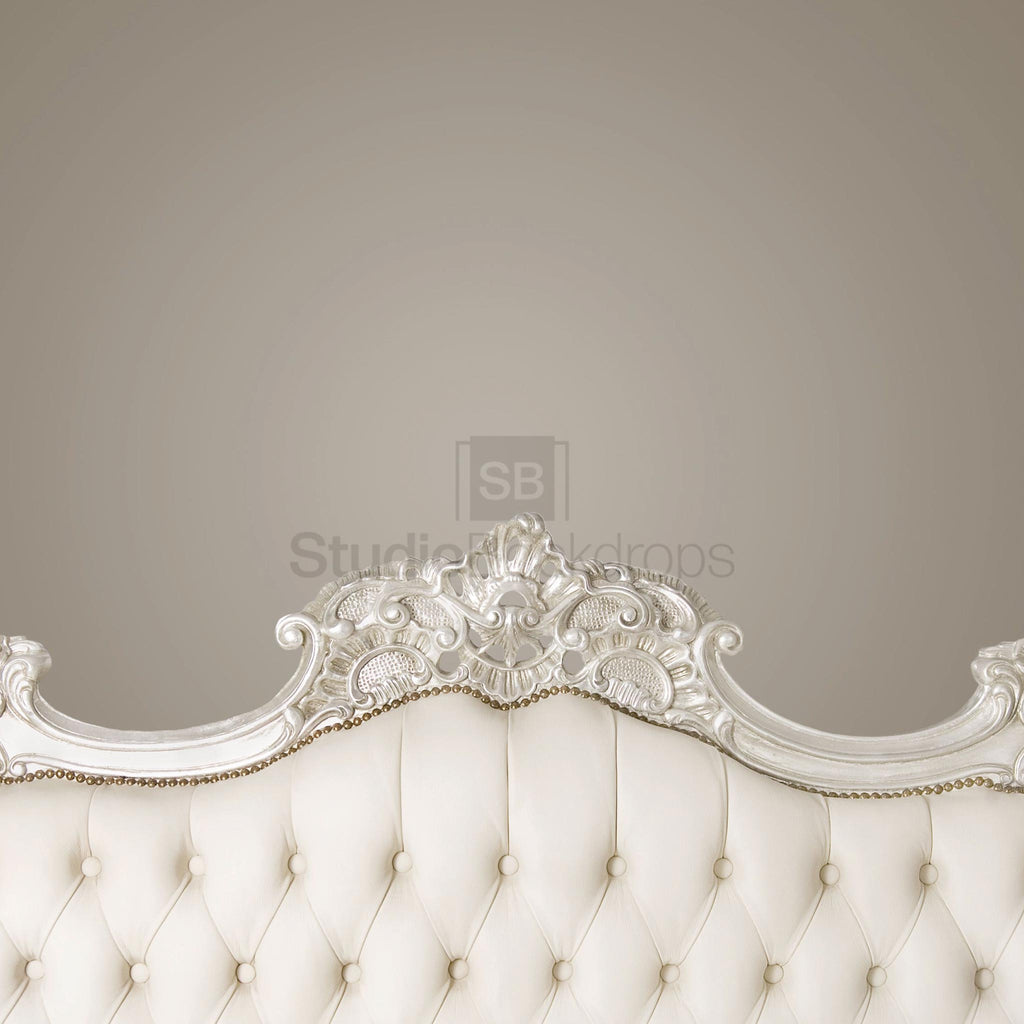 White Headboard Photography Backdrop