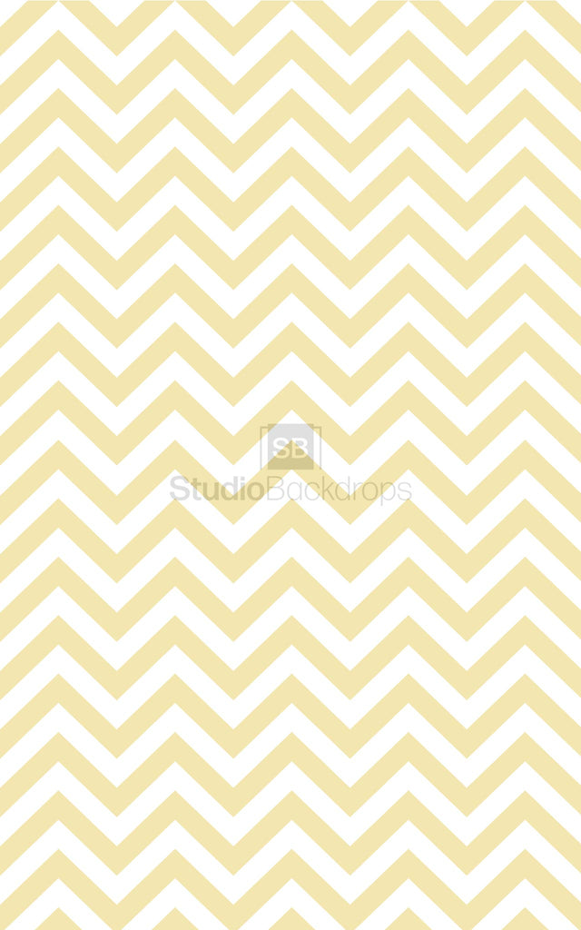 Yellow Chevron Photography Backdrop