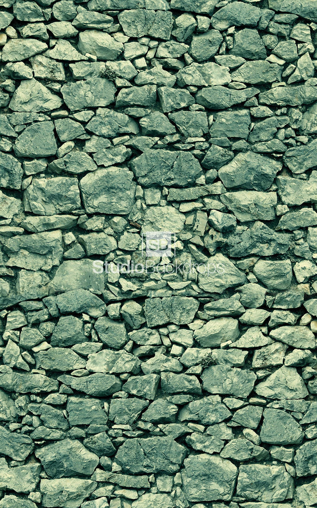 Dry Stone Wall Photography Backdrop