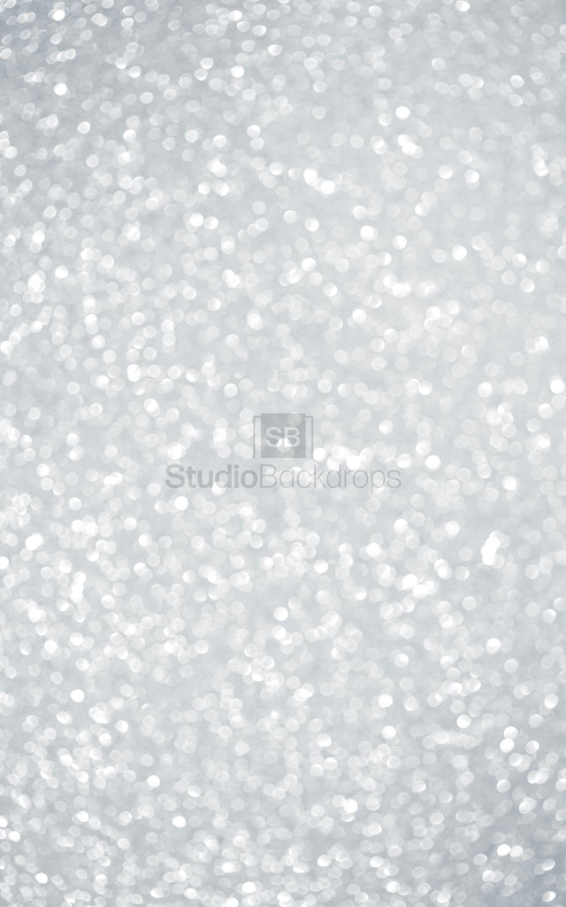 Grey Glitter Bokeh Photography Backdrop