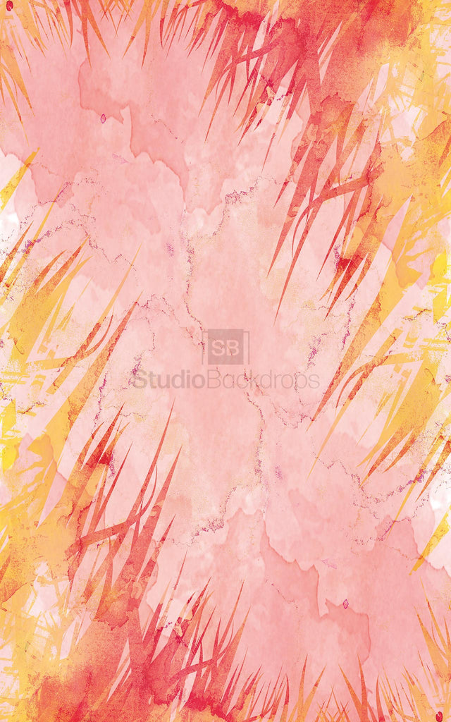 Watercolour Floral Photography Backdrop