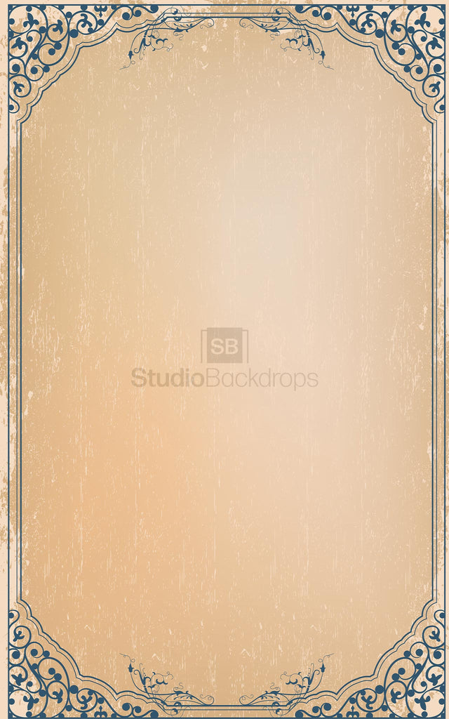 Vintage Photo Frame Photography Backdrop
